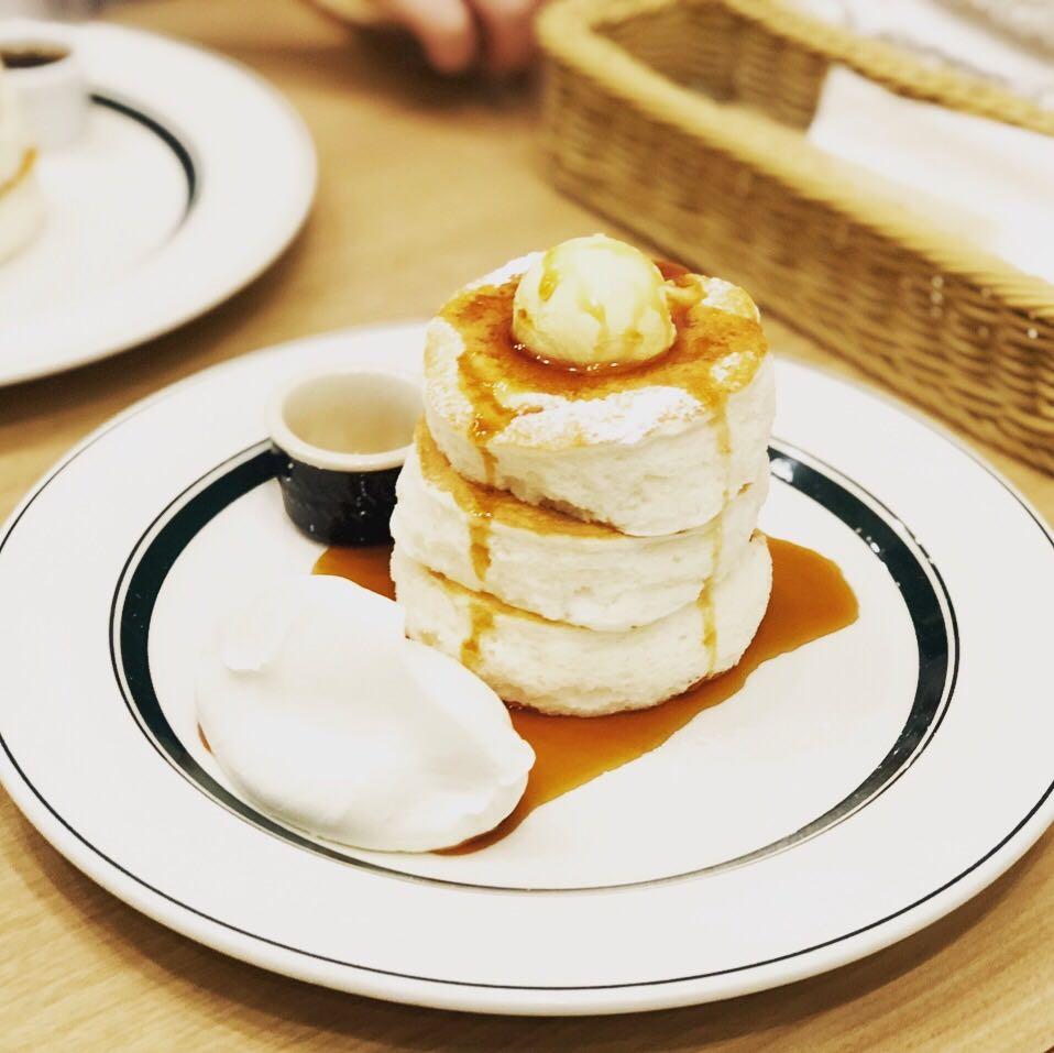 大人気のプレミアムパンケーキに言葉を失う @gramみなとみらい店